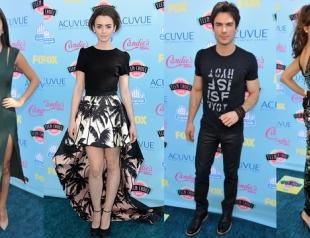 Teen Choice Awards-2013: красная дорожка и победители
