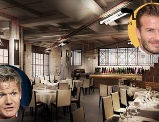 Гордон Рамзи и Дэвид Бекхэм открывают ресторан
