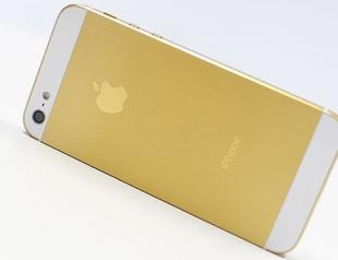 Новый iPhone 5S выйдет в золотом цвете