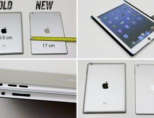 В сети появились фото и видео нового iPad 5