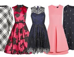 Модные платья сезона осень-зима 2013-2014: что, где, почем