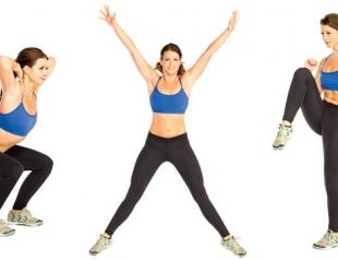Комплекс упражнений для сжигания жира