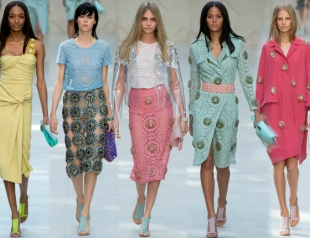 Неделя моды в Лондоне: Burberry Prorsum весна-лето 2014