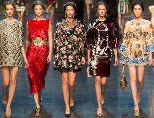 Неделя моды в Милане: Dolce&Gabbana весна-лето 2014