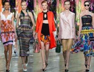 Неделя моды в Париже: Christian Dior весна-лето 2014