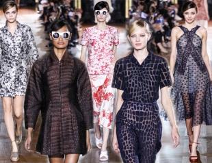Неделя моды в Париже: Stella McCartney весна-лето 2014