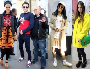 Гости Ukrainian Fashion Week. День 1