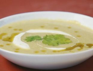 Суп-пюре из брокколи. Видео-рецепт