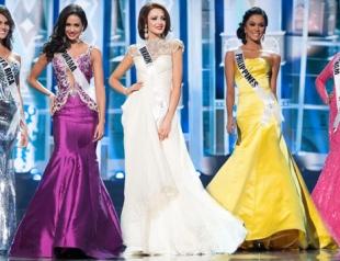 Полуфинал Мисс Вселенная 2013: выход участниц в вечерних платьях