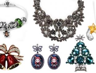 Модные украшения на новогоднюю вечеринку 2014
