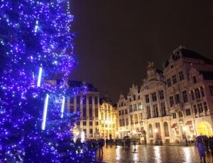 Новый год и Рождество 2014 в центре Европы