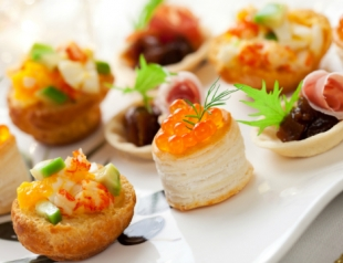 Рецепты блюд на новогодний стол 2014: канапе
