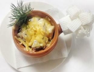 Рецепты блюд на новогодний стол 2014: горячие закуски