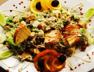 Новогодние салаты 2014: салаты на скорую руку
