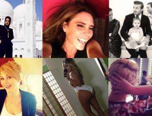 Лучшие снимки звезд из Instagram за 2013 год