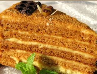 Торт Медовик: лучшие рецепты