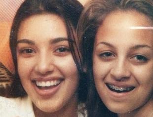 Ким Кардашьян показала фото себя и Николь Ричи в 13 лет
