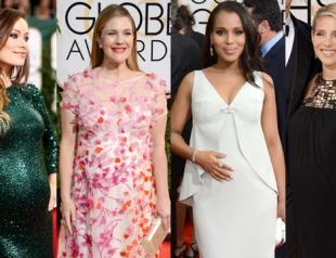 Золотой Глобус 2014: будущие мамочки на красной дорожке