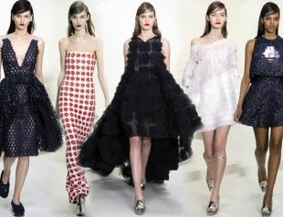 Неделя высокой моды в Париже: Christian Dior весна-лето 2014