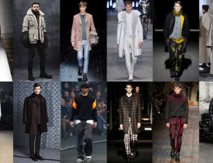 Мужская мода осень-зима 2014-2015: тренды и лучшие образы