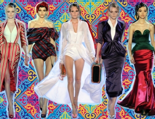 Неделя высокой моды в Париже: Ulyana Sergeenko весна-лето 2014