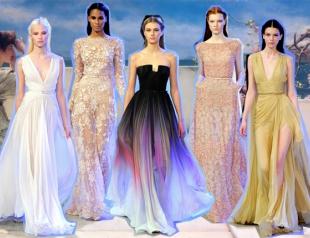 Неделя высокой моды в Париже: Elie Saab весна-лето 2014