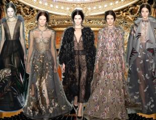 Неделя высокой моды в Париже: Valentino весна-лето 2014
