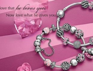 Коллекция украшений Pandora ко Дню всех влюбленных