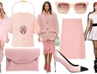 Тренд сезона весна-лето 2014: пастельно-розовый цвет