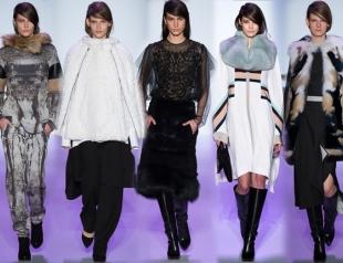 Неделя моды в Нью-Йорке: BCBG Max Azria осень-зима 2014-2015