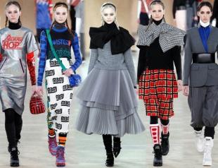 Неделя моды в Нью-Йорке: Marc by Marc Jacobs осень-зима 2014-2015