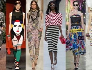 Модные принты сезона весна-лето 2014