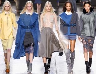 Неделя моды в Лондоне: Topshop Unique осень-зима 2014-2015