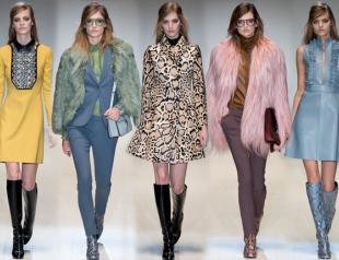 Неделя моды в Милане: Gucci осень-зима 2014-2015