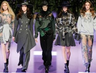 Неделя моды в Париже: Alexis Mabille осень-зима 2014-2015