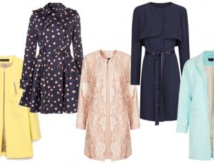 Модные пальто и плащи весны-лета 2014: что, где, почем