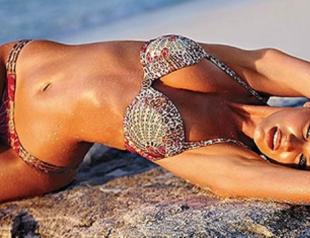 Ангел Victoria's Secret Кэндис Свэйнпол в новом каталоге бренда