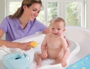 Купание малыша: на что обратить внимание