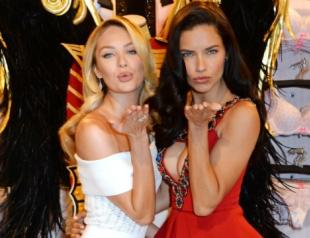 Адриана Лима и Кэндис Свэйнпол анонсировали шоу Victoria's Secret в Лондоне