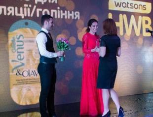 Покупатели Watsons наградили победителей премии HWB Awards 2013