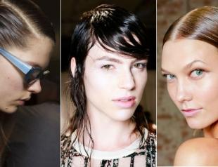 Тренд: укладка с эффектом мокрых волос