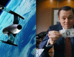 Леонардо ДиКаприо продал полет с собой в космос за $1 млн