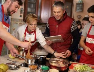 Пять лучших украинских телеведущих кулинарных шоу