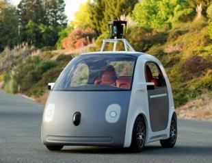 Google представил собственный самоуправляемый автомобиль
