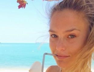 Известные модели без макияжа в Instagram