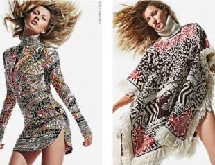 Жизель Бундхен в новой рекламной кампании Emilio Pucci