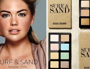 Кейт Аптон представила линию косметики Surf and Sand от Bobbi Brown
