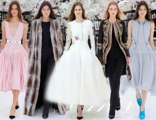 Неделя высокой моды в Париже: Christian Dior осень-зима 2014-2015
