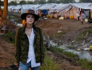 Кира Найтли посетила Южный Судан с благотворительной миссией