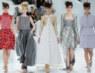 Неделя высокой моды в Париже: Chanel осень-зима 2014-2015